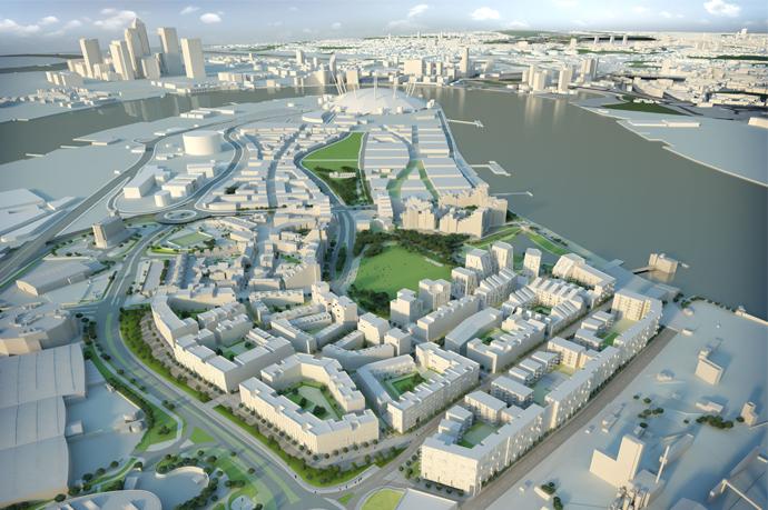 Greenwich Millennium Village Master Plan Greenwich Millennium Village