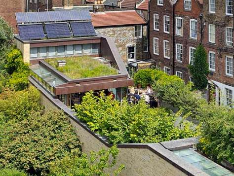4 Bere Green roof 1