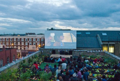 5 Dalston Roof Park 1 film club